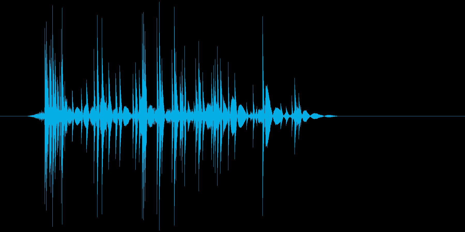 ゲーム(ファミコン風)爆発音_026の再生済みの波形
