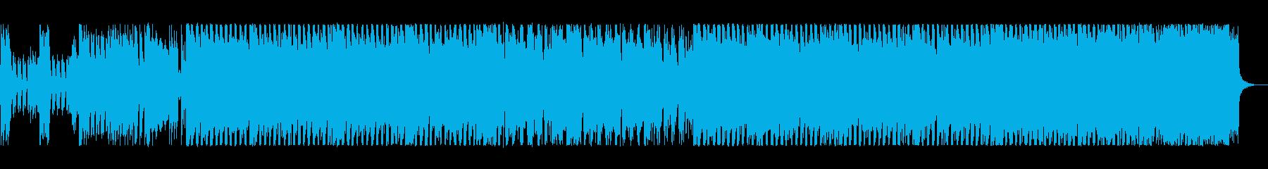 80s'エレクトリック・ポップの再生済みの波形