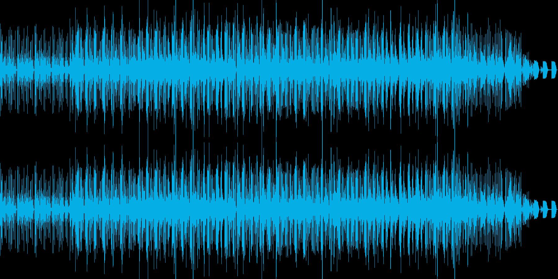ピアノが入ったループブレイクビーツの再生済みの波形
