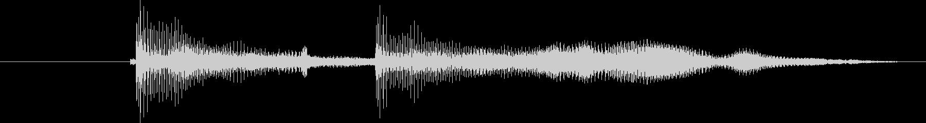 口琴3 びゅいんびゅいん コント お笑いの未再生の波形
