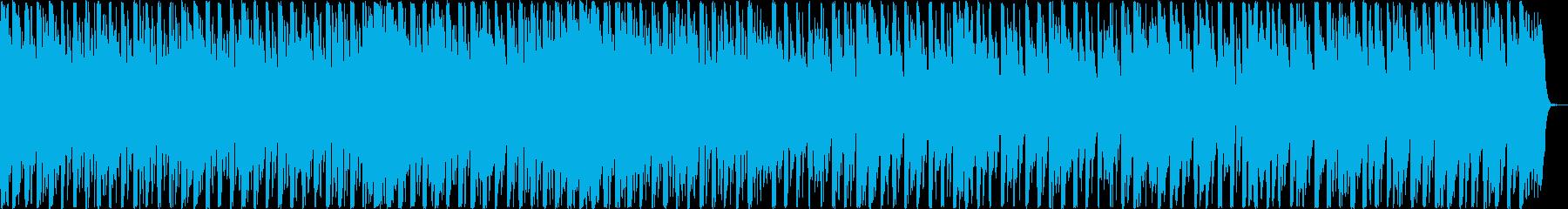ピコピコした音がかわいいテクノポップの再生済みの波形