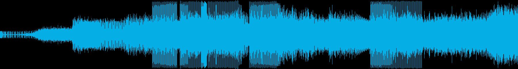 本格ハウスミュージックの再生済みの波形