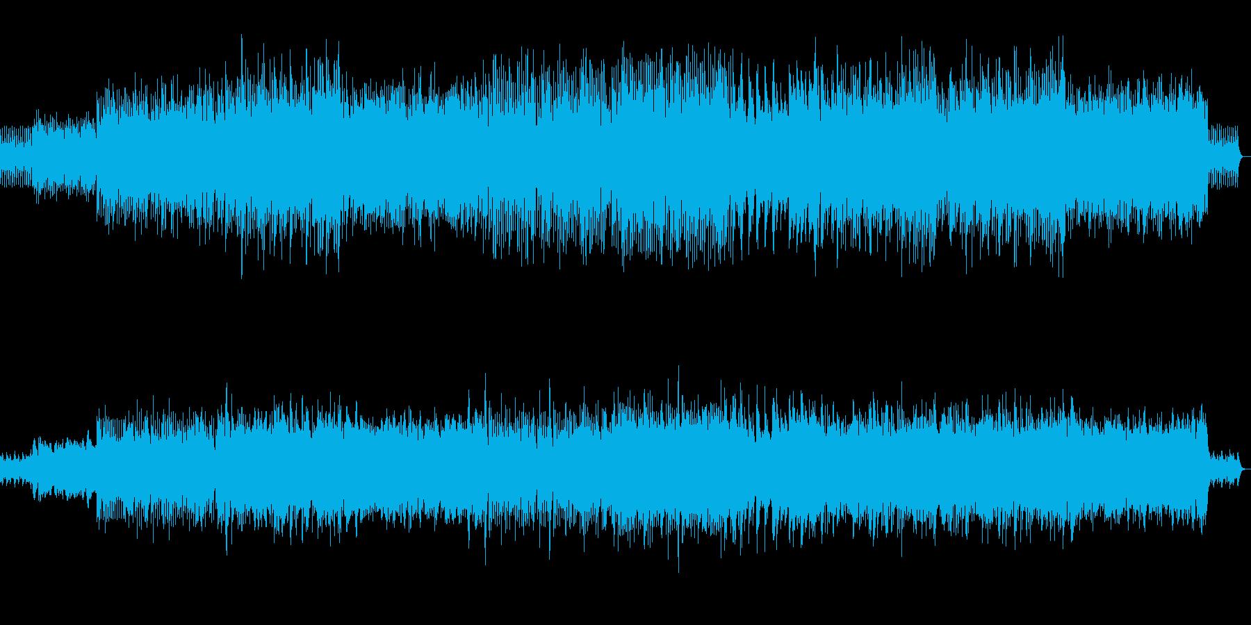 田舎の夏をイメージしたピアノ曲の再生済みの波形