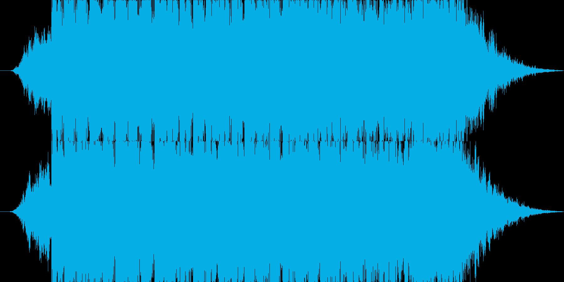 トランスなジングルですの再生済みの波形