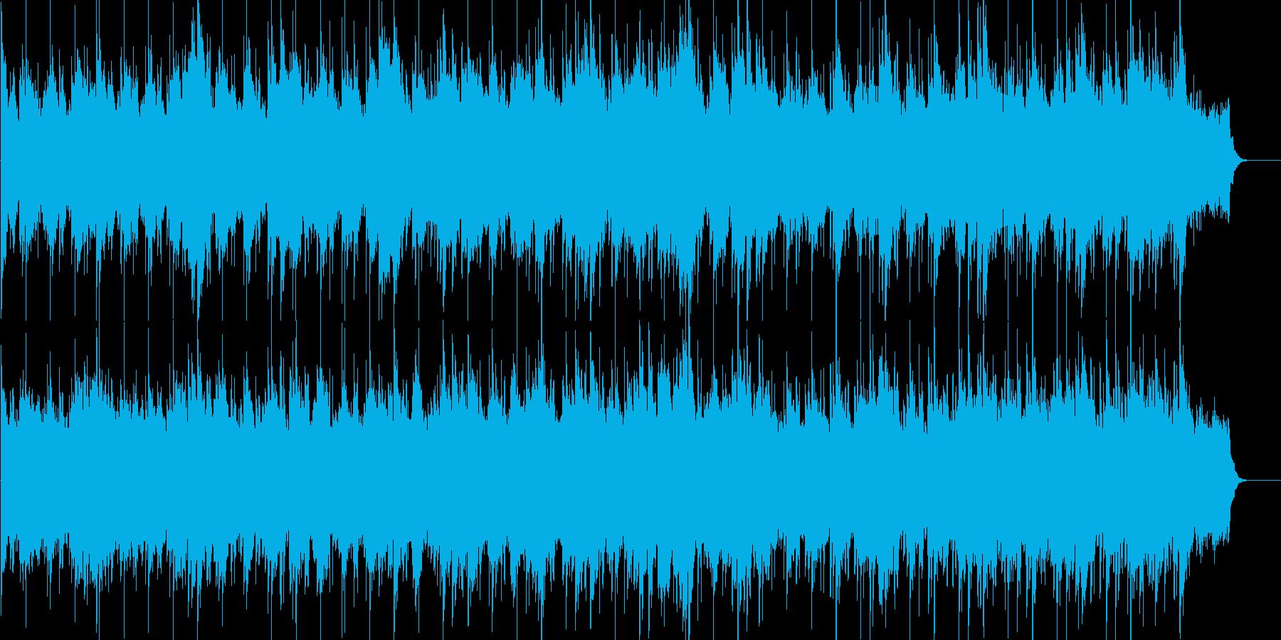 安らぎ、ゆったり、優しい、ブライダルの再生済みの波形