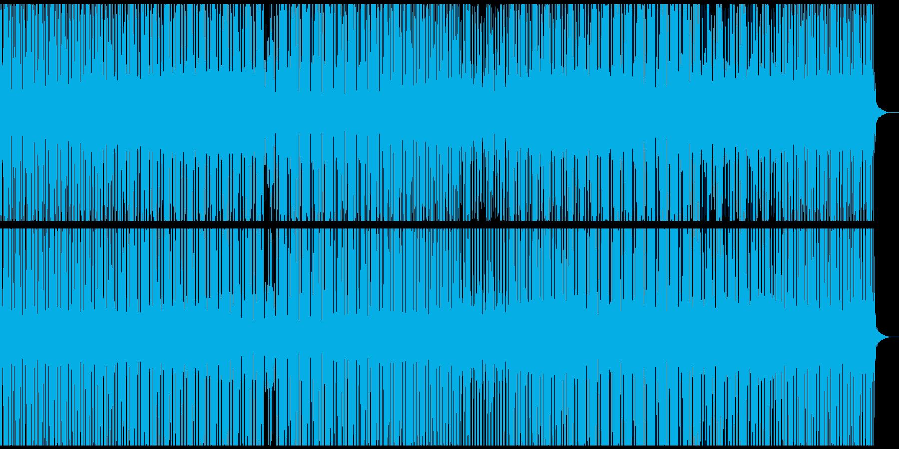 ambient deep dubtechの再生済みの波形