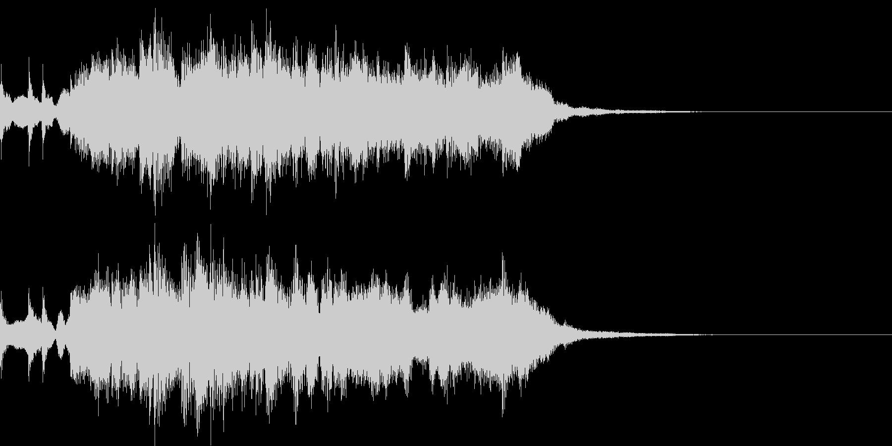 ゲームクリアな音の未再生の波形