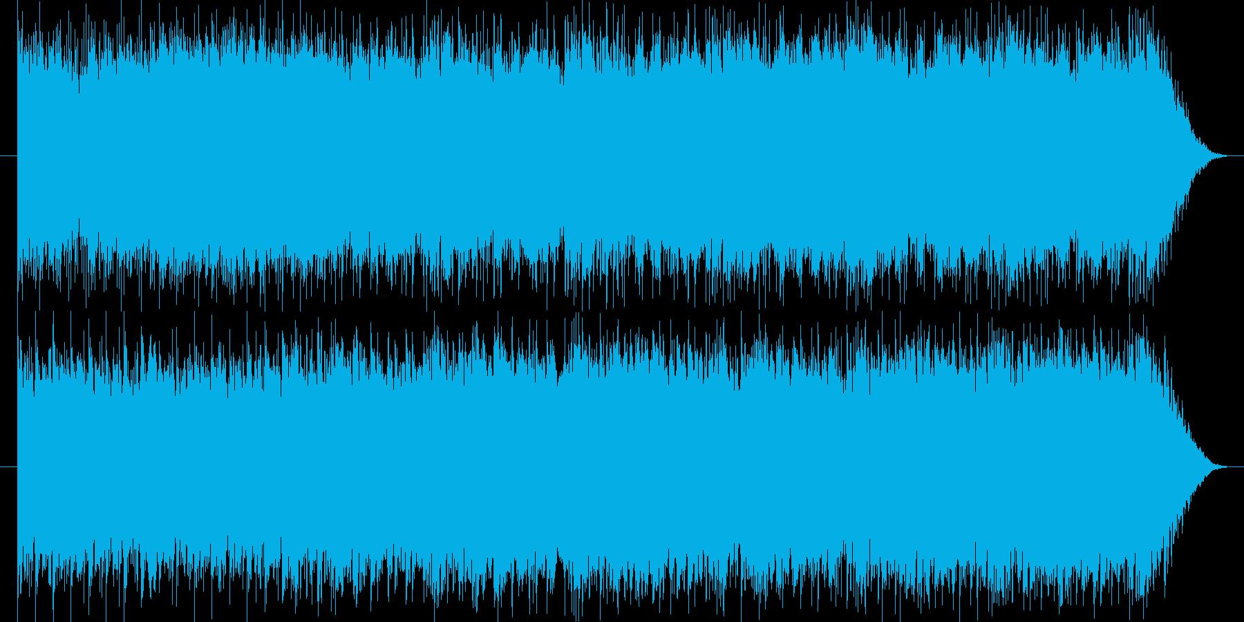 ほのぼのした雰囲気のフルートメロの楽曲の再生済みの波形