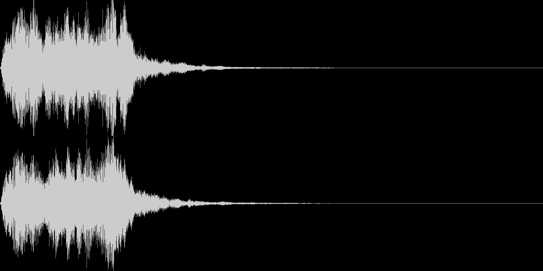 ストリングフレーズ04の未再生の波形