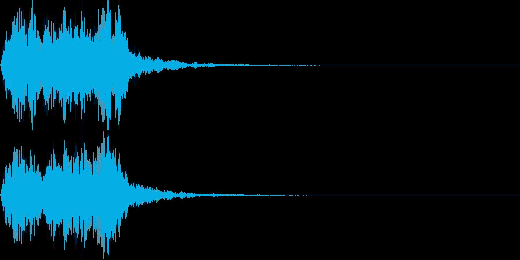 ストリングフレーズ04の再生済みの波形
