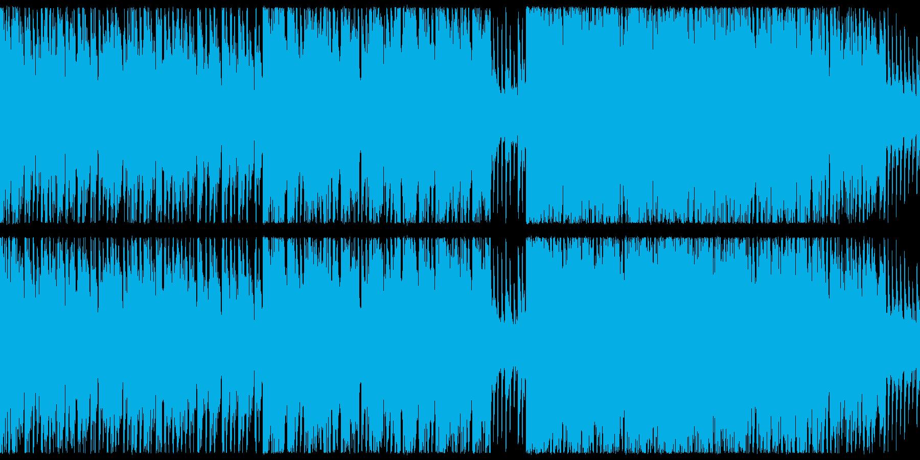 【ループ仕様】狂気な感じ,RPGバトルの再生済みの波形