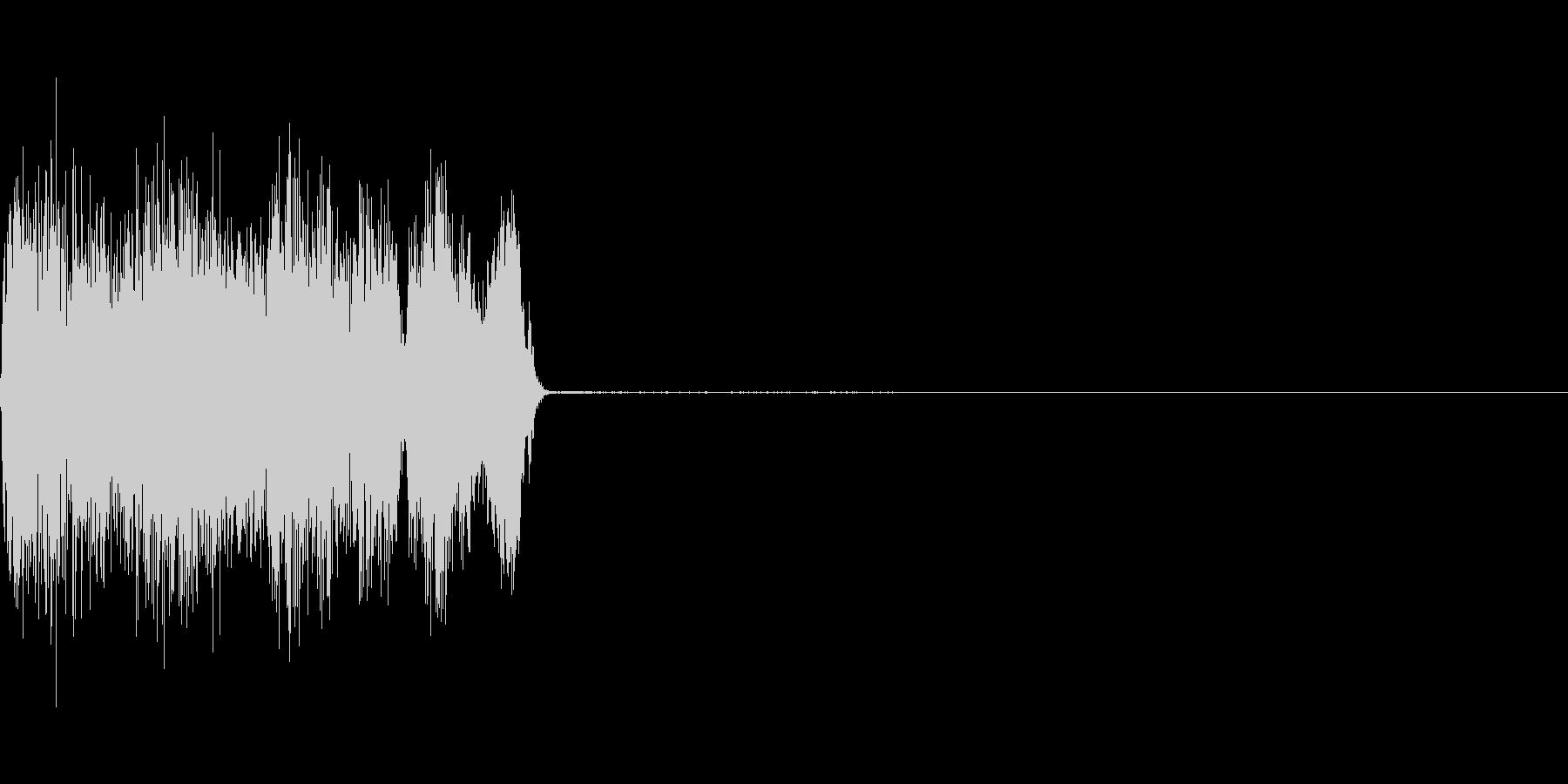 コックピットなどの細かい電子音_10の未再生の波形