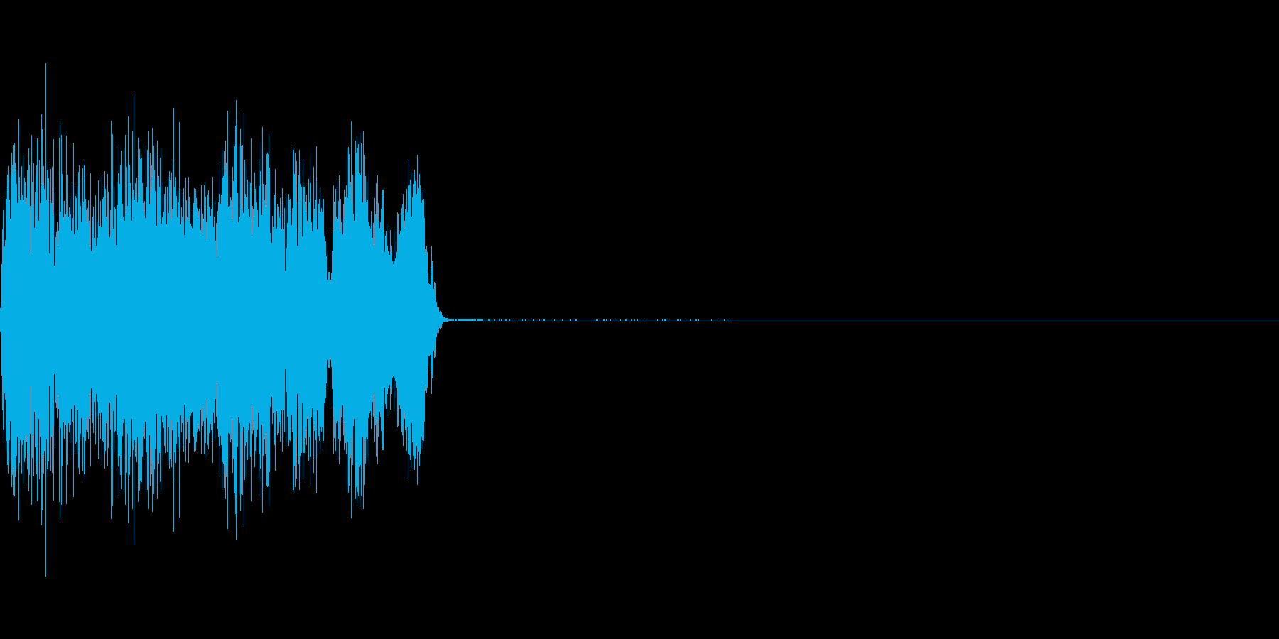コックピットなどの細かい電子音_10の再生済みの波形