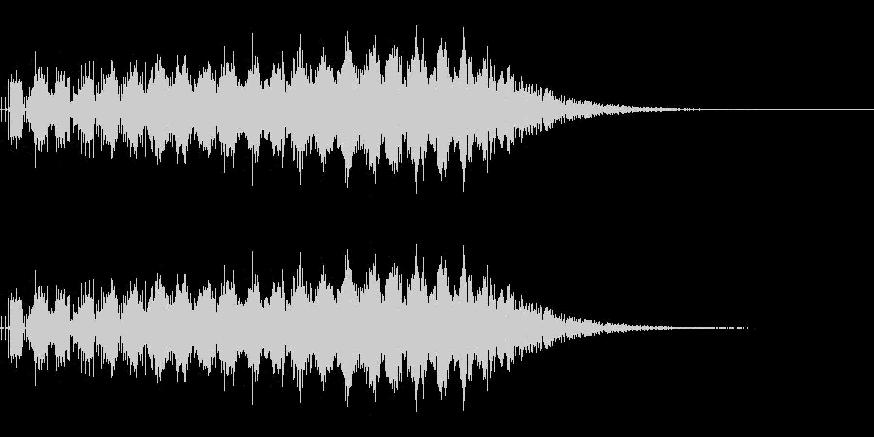 少し力を溜めてビーム発射(SF/宇宙)の未再生の波形