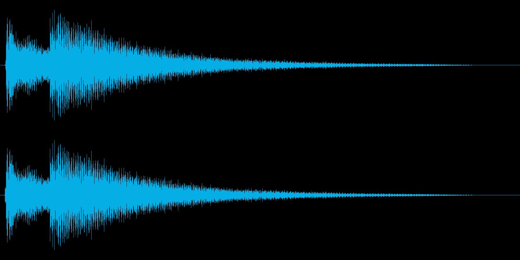 コカ〜ン(ベルの音色)の再生済みの波形