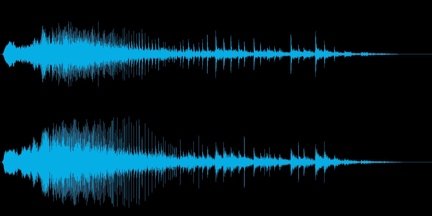 ギー(蝶番が油切れの扉を開ける音)の再生済みの波形