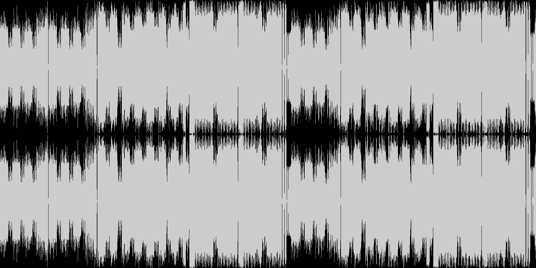 8bitチップチューン:アクション#01の未再生の波形