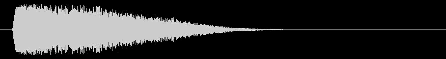 ワープ、不思議の未再生の波形