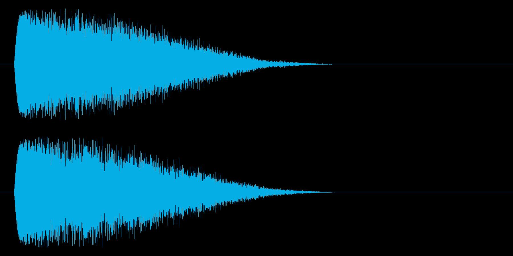 ワープ、不思議の再生済みの波形