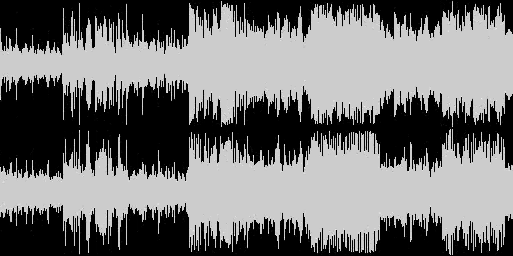 【ドラム抜き】浮遊感のある幻想的なピアノの未再生の波形