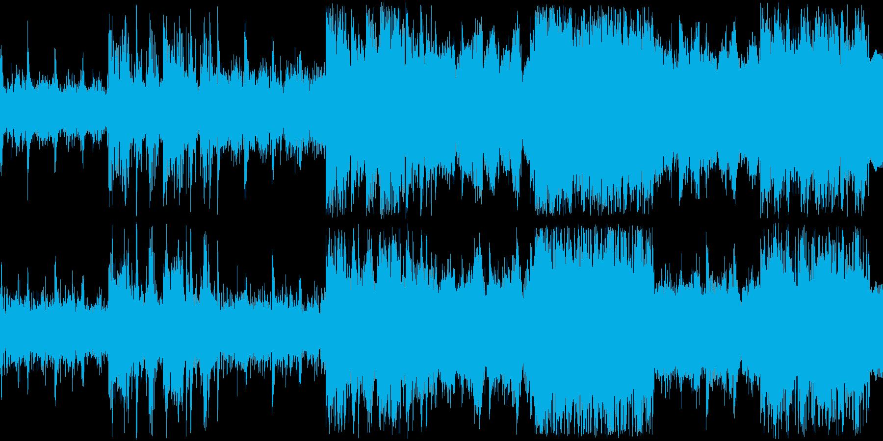 【ドラム抜き】浮遊感のある幻想的なピアノの再生済みの波形