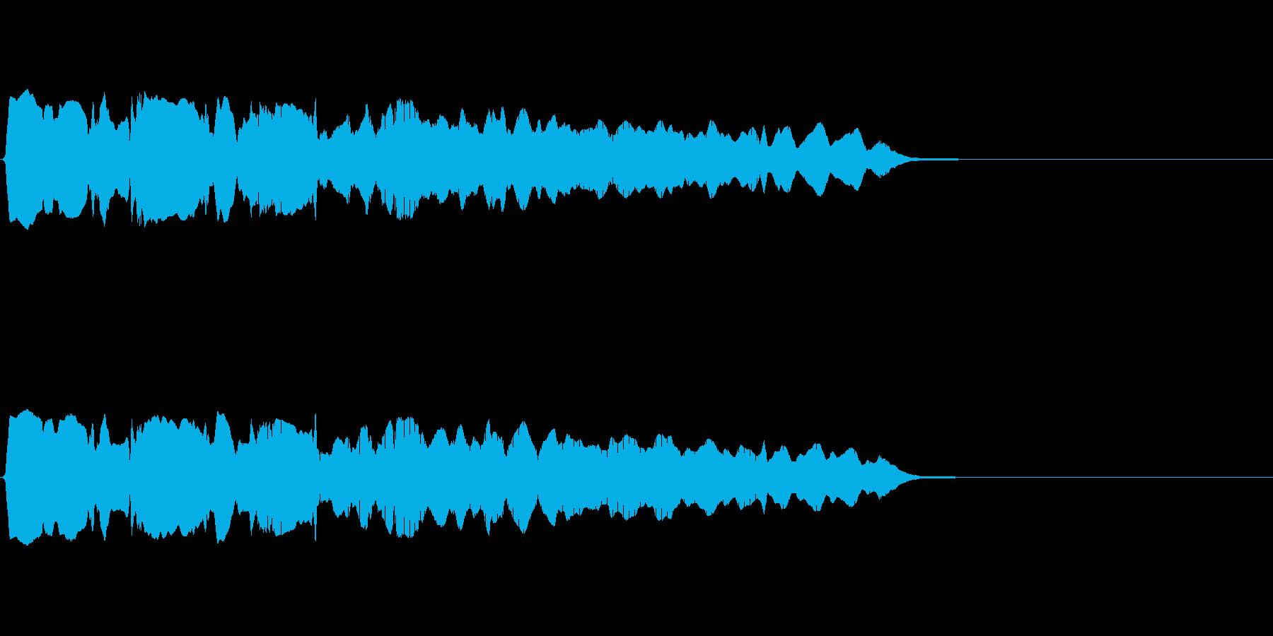 【フレーズ04-2】の再生済みの波形