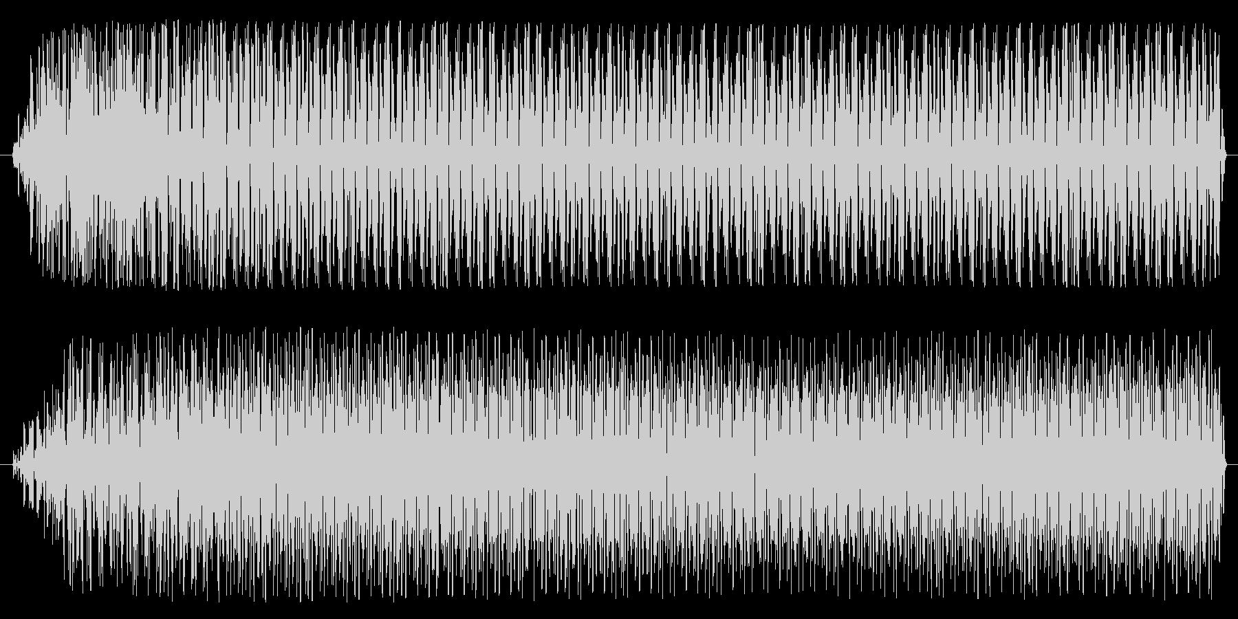 ブワ〜ダダダダ(エンジンが響く音)の未再生の波形