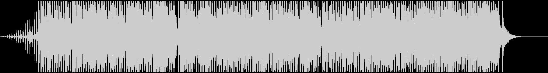 ファンタジックでキラキラしたBGMの未再生の波形