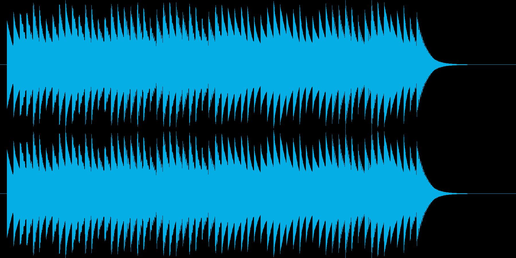 推理しているシーンです。の再生済みの波形