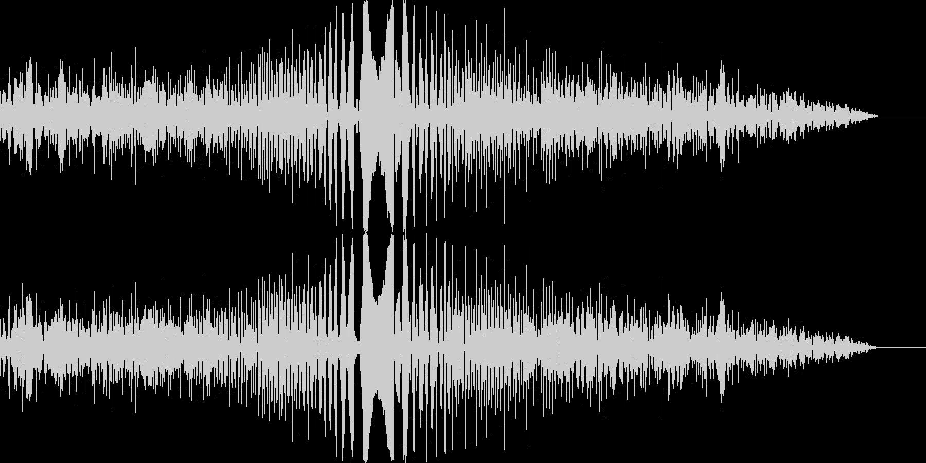決定/ボタン押下音(コミカル)の未再生の波形