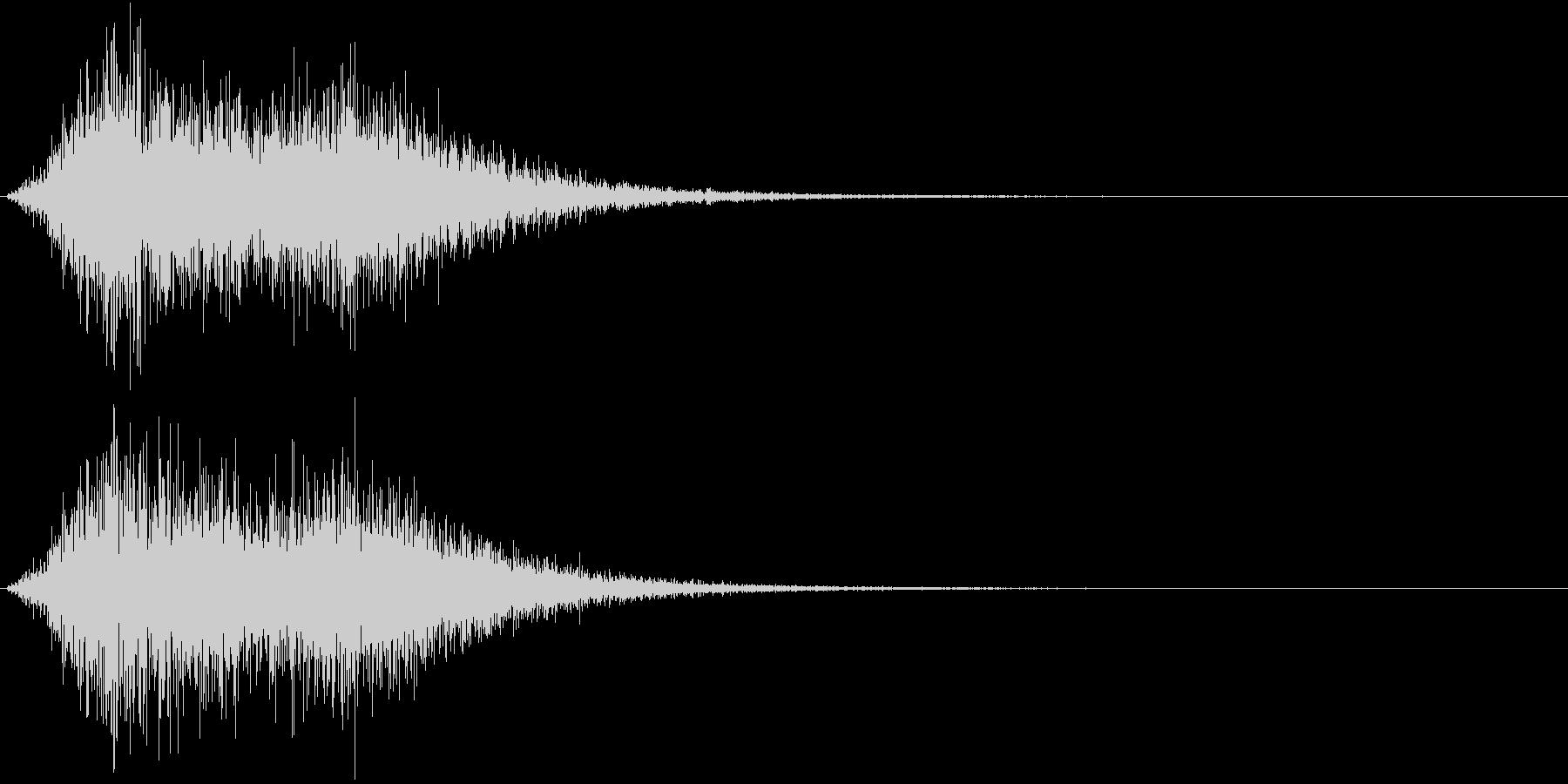 Battle 戦闘エフェクト音 5の未再生の波形