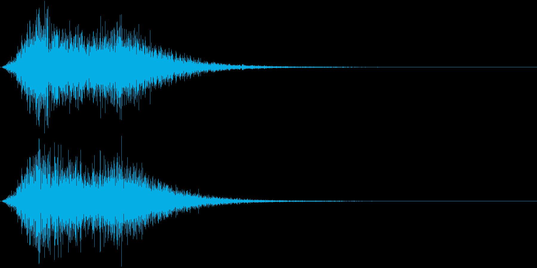 Battle 戦闘エフェクト音 5の再生済みの波形