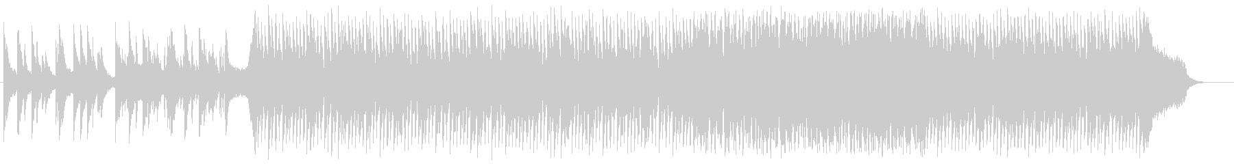 メロウなピアノのEDM:フル版の未再生の波形