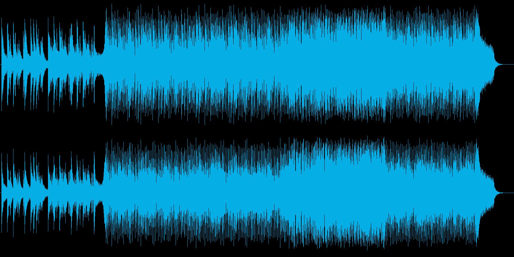 メロウなピアノのEDM:フル版の再生済みの波形