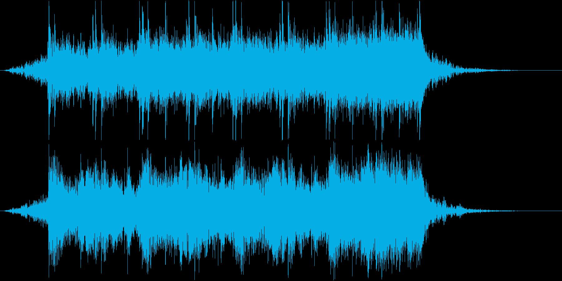 冷たいダンジョンぽい曲 20秒バージョンの再生済みの波形