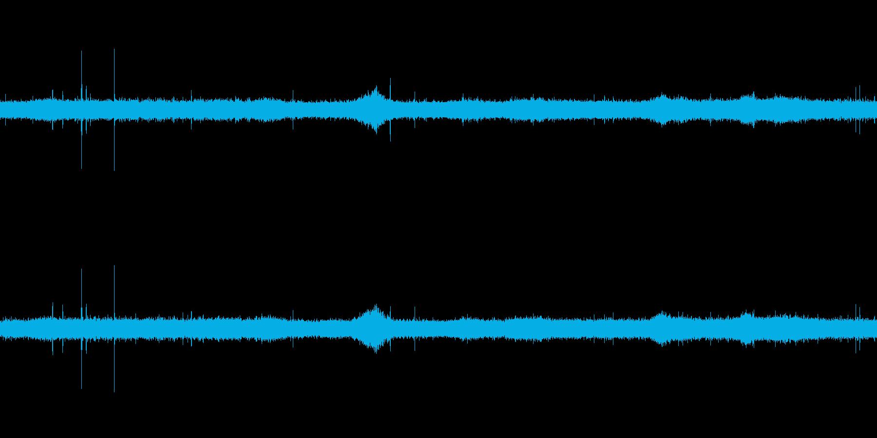 【生音】夏の日の雨音 - 02  「ざ…の再生済みの波形