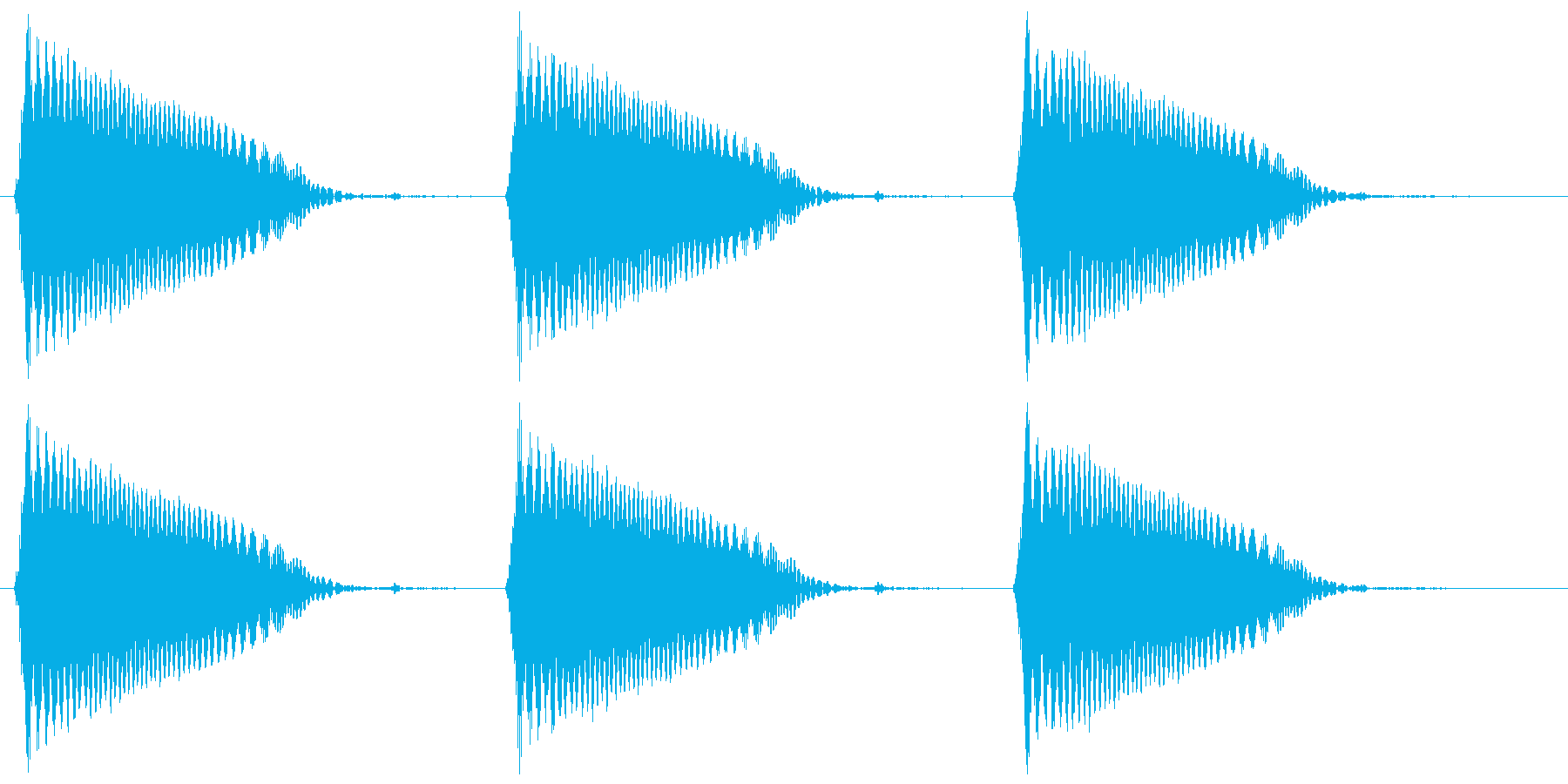 ファン、ファン…(浮遊、おばけ、幽霊)の再生済みの波形