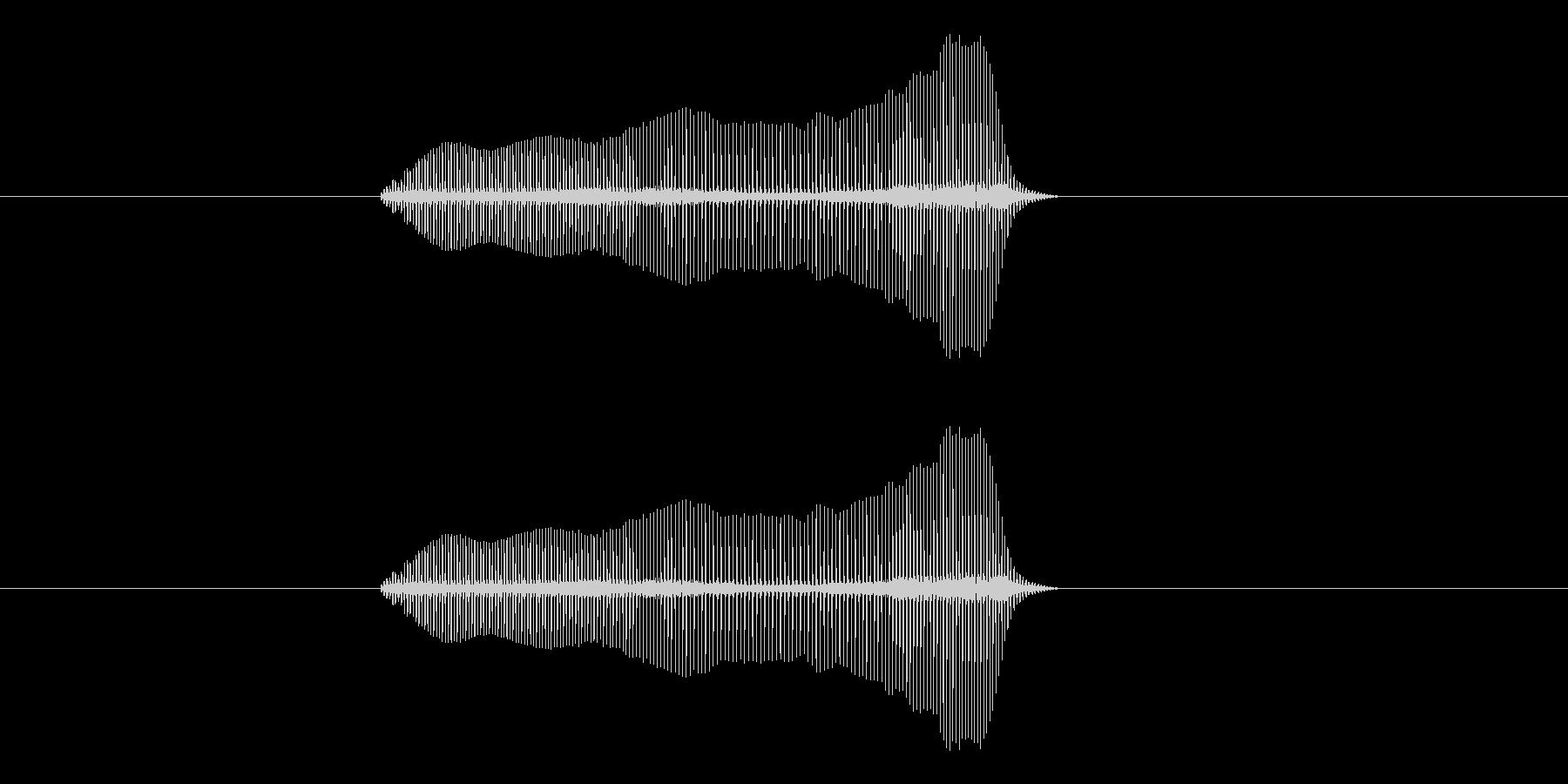 トロンボーンあるあるフレーズBPM300の未再生の波形