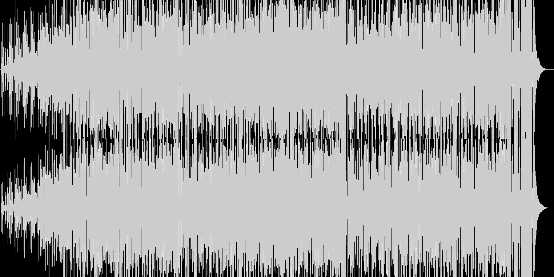 トロピカル風の軽快なインスト曲ですの未再生の波形