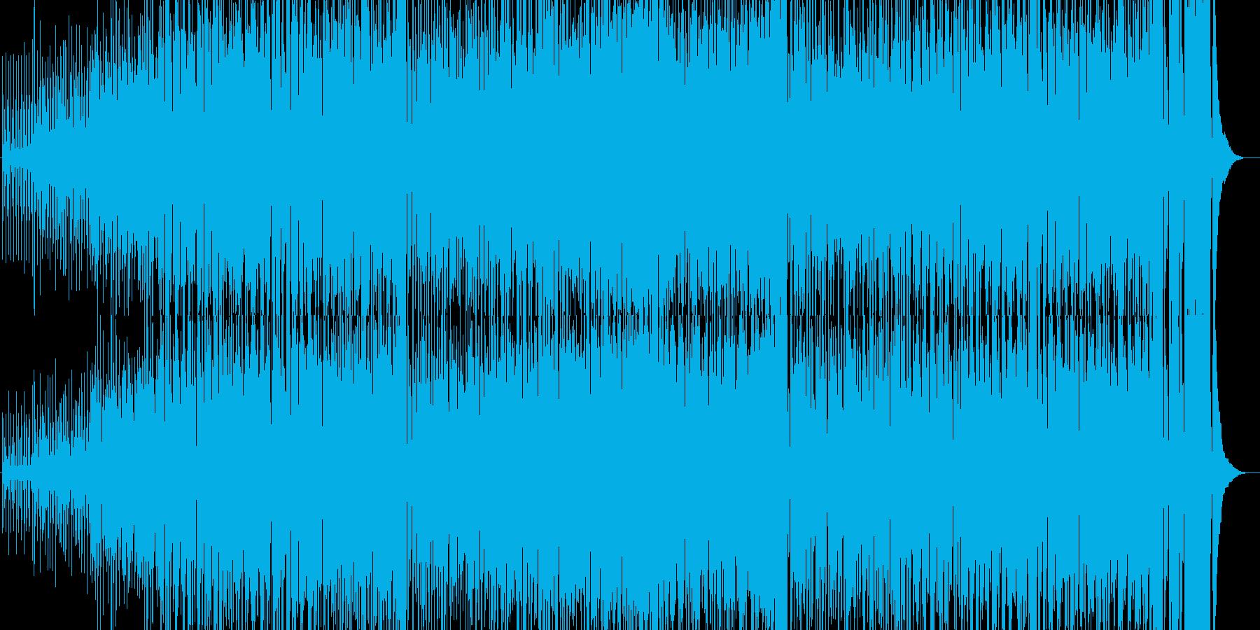 トロピカル風の軽快なインスト曲ですの再生済みの波形