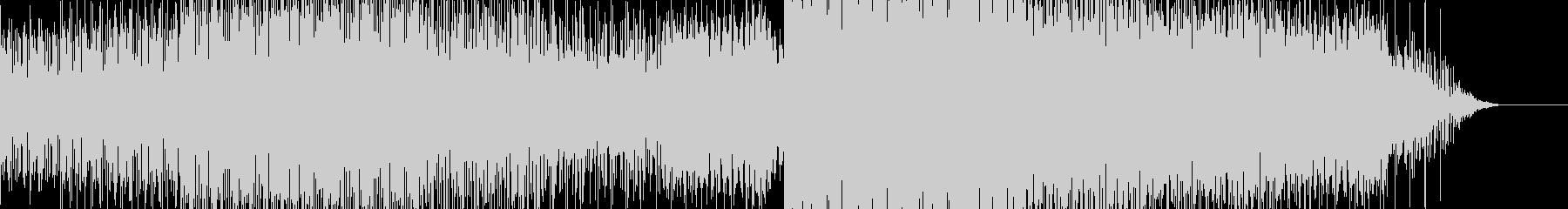 ブレイクビーツBGM4の未再生の波形