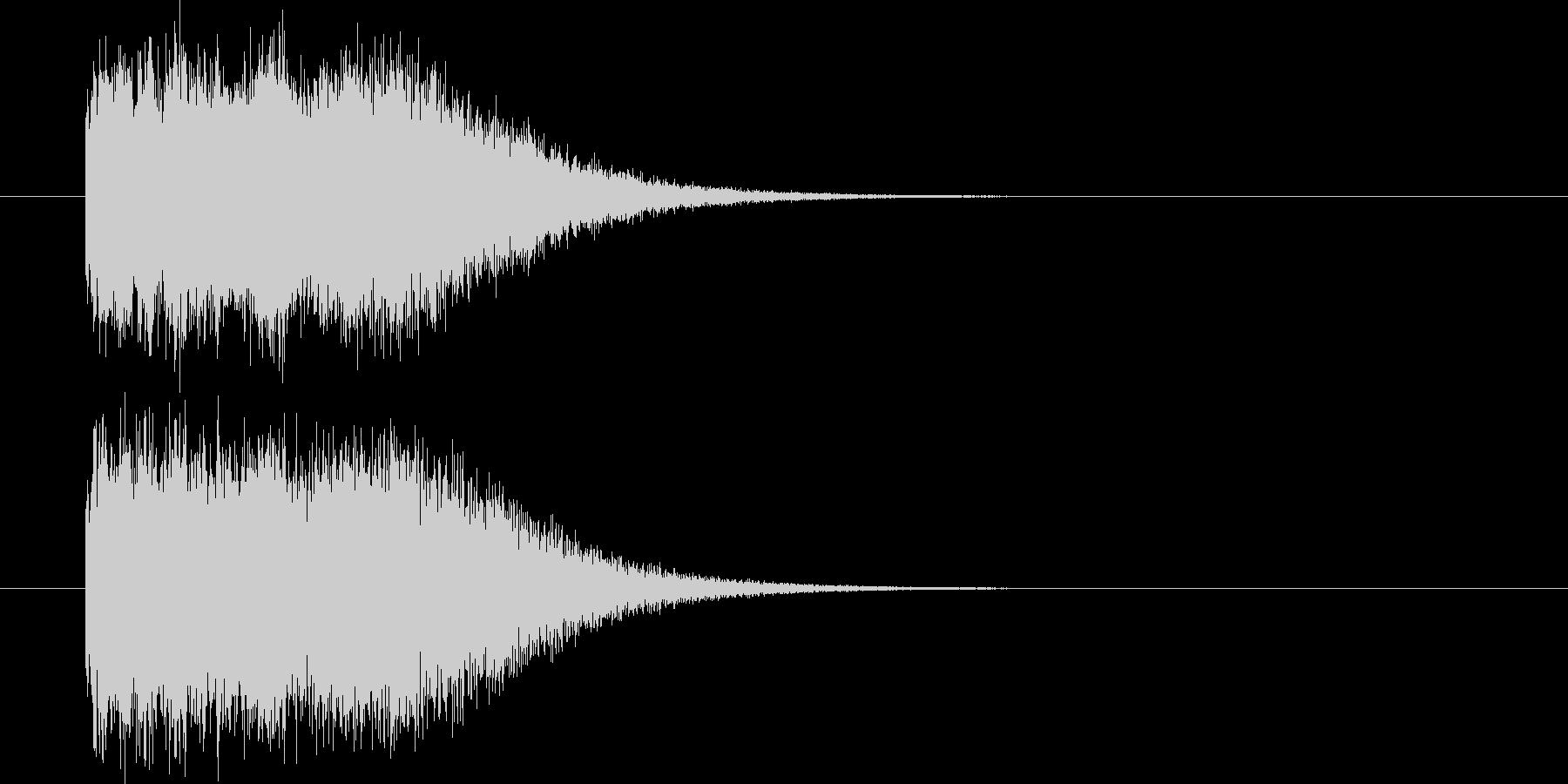 魔法(発射系)の未再生の波形
