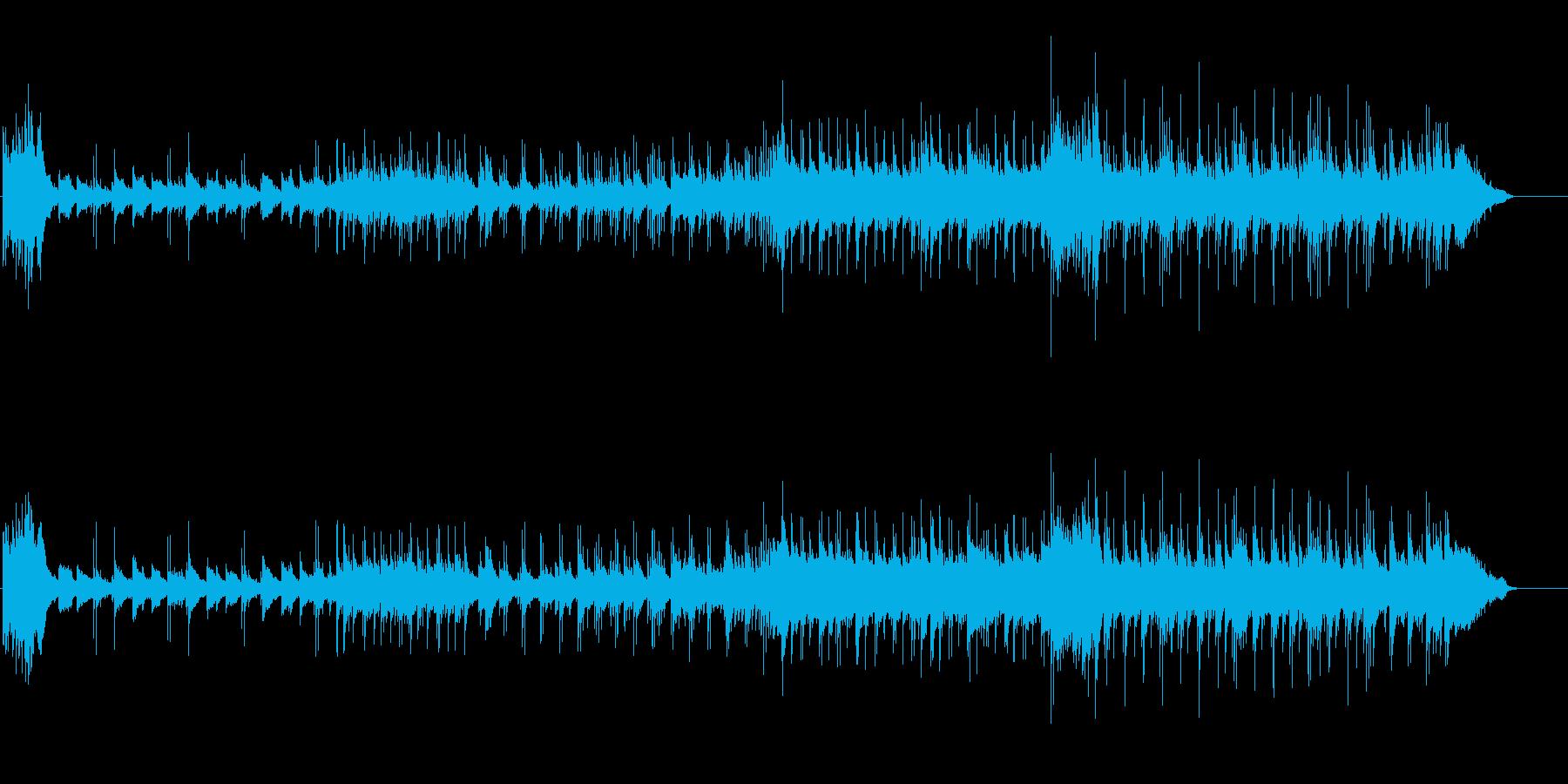 洒落た都会的センスのピアノ・バラードの再生済みの波形