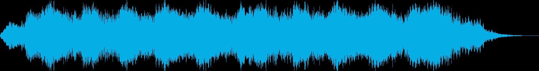 ヨガ、快眠、エステ等に適したアンビエントの再生済みの波形