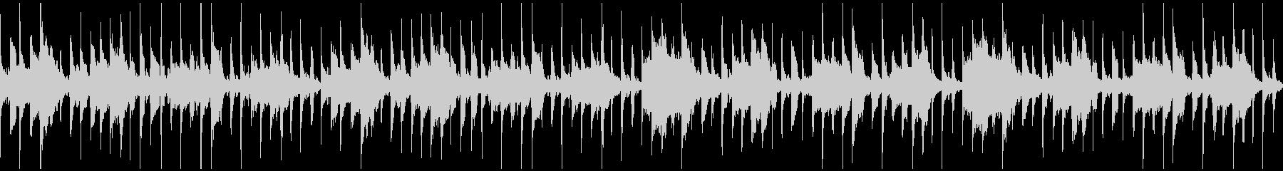 ほのぼの笛メロディのBGM(ループ)の未再生の波形