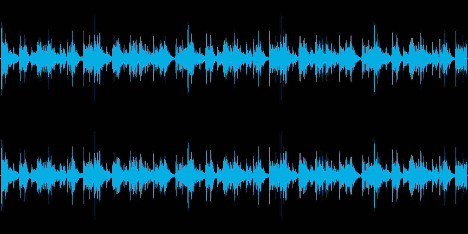 エキゾチックHip-Hopの再生済みの波形