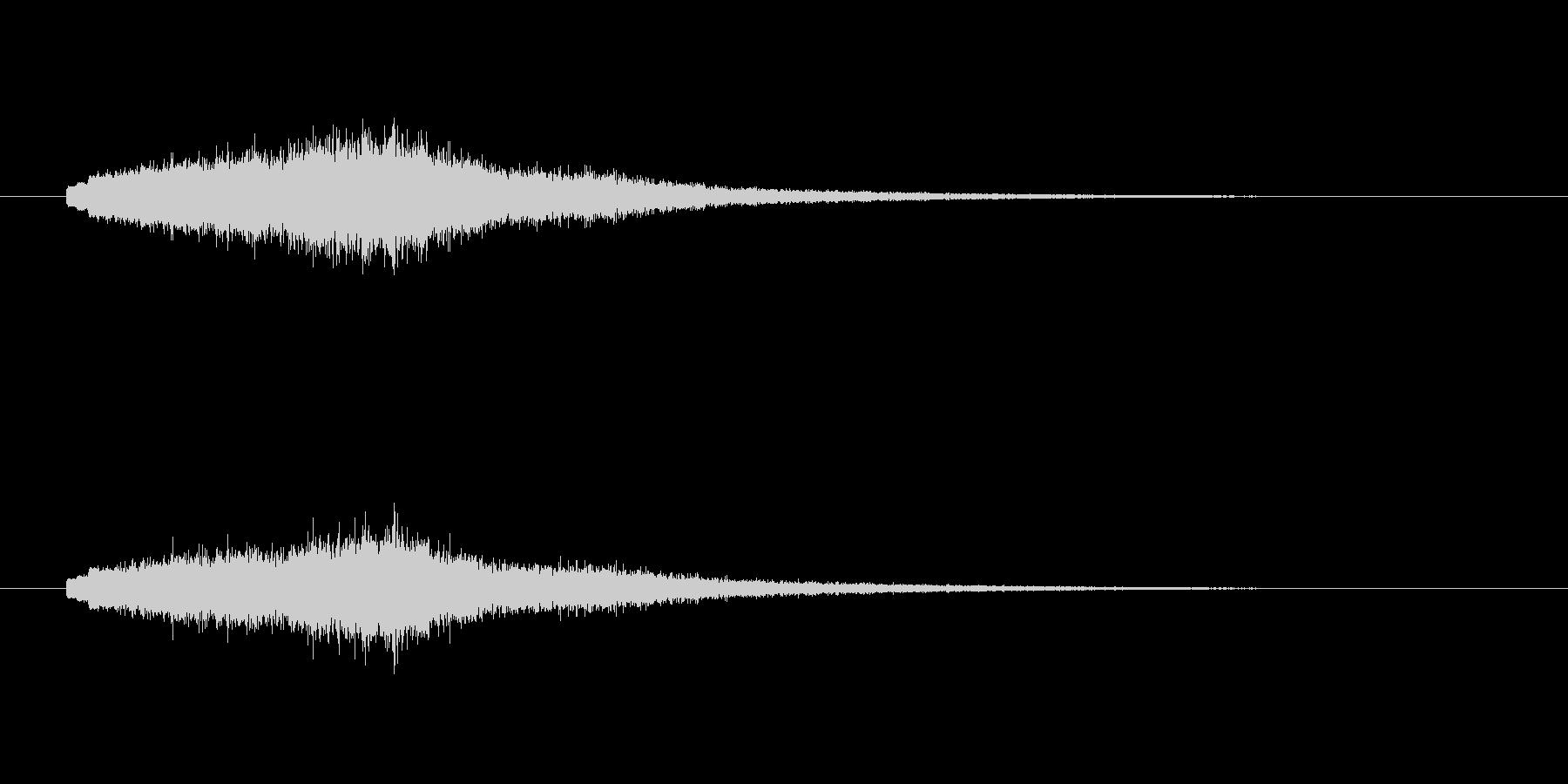 キュワーン(宇宙、近未来)の未再生の波形