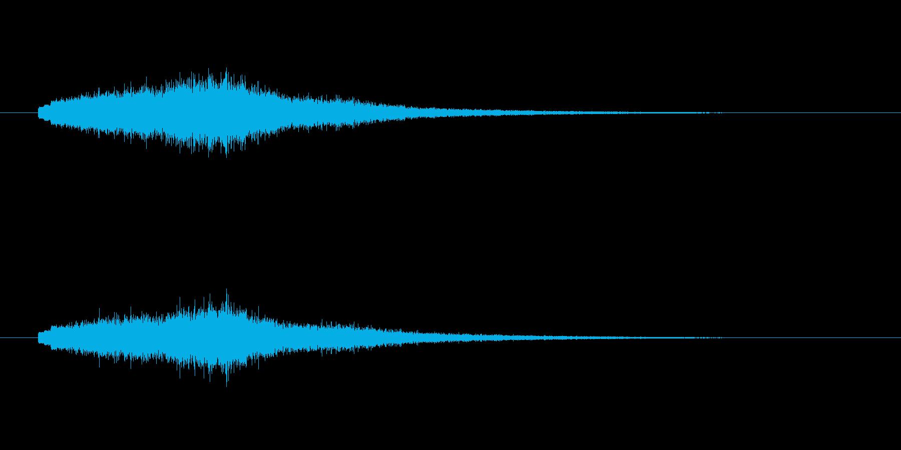 キュワーン(宇宙、近未来)の再生済みの波形