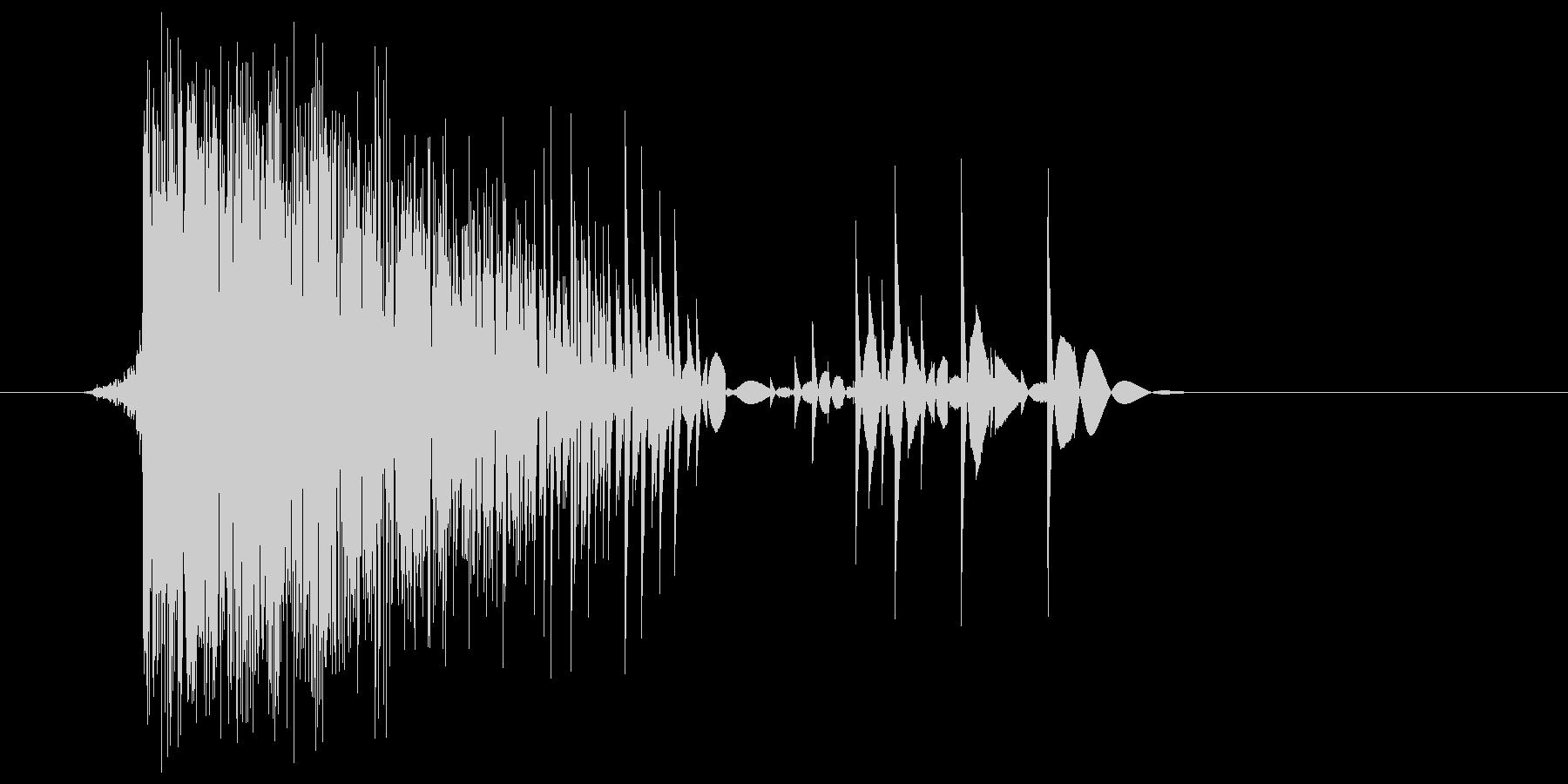 ゲーム(ファミコン風)爆発音_011の未再生の波形