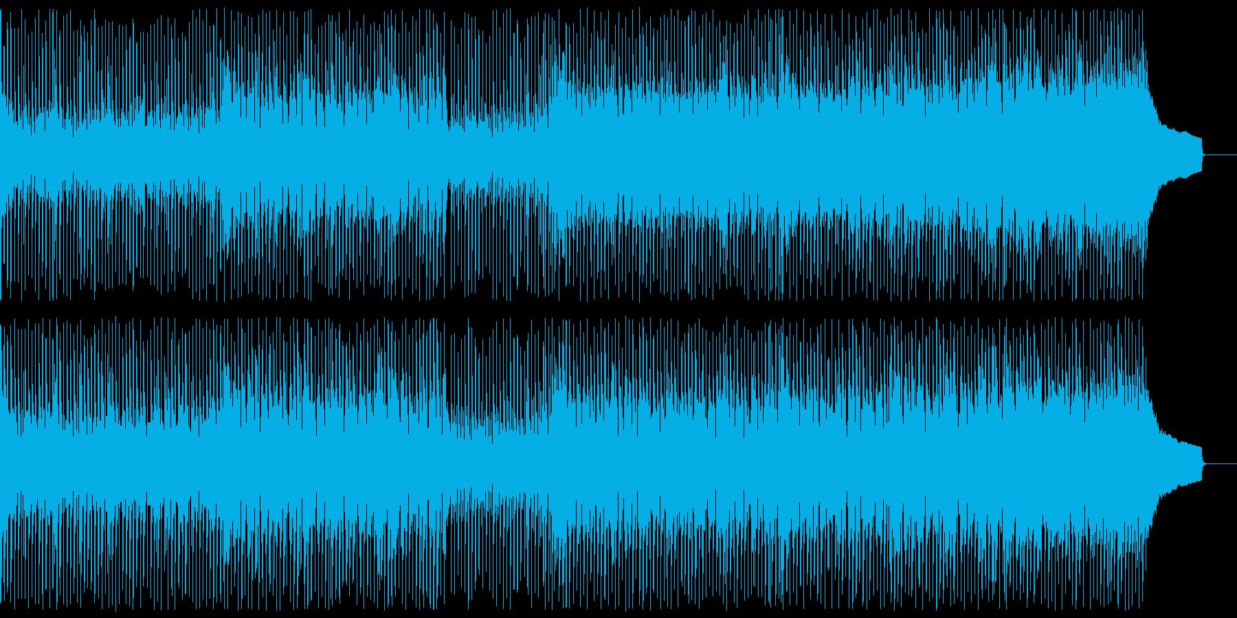 【メロディ抜き】アップテンポなほがらか…の再生済みの波形